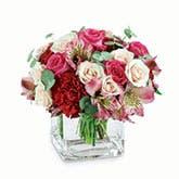 Elegant Pink Modern Flower Bouquet
