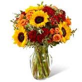 Sanguine Summer Garden Bouquet