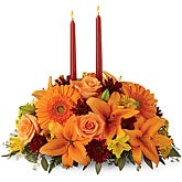 Autumn Florals Centerpiece