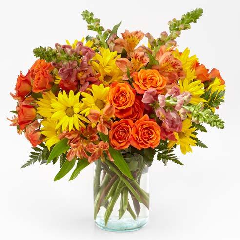 Fantastical Fall Rose Bouquet