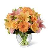 Lovin' Peach Flower Bouquet