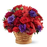 Dazzle in Red Basket