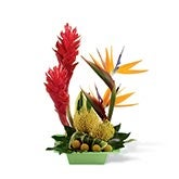 Tropical Ginger Arrangement