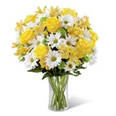 Sunny Thoughts & Yellow Roses Bouquet