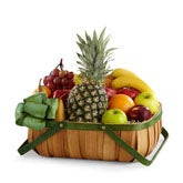 Assorted Fruits Gift Basket