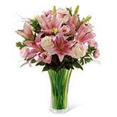 Entrapment Pink Lily Bouquet