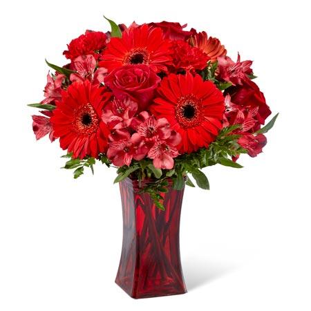 Ravishing Red Gerbera Bouquet