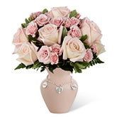 Rosy Charm New Mother Bouquet - Girl