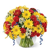 Stunning Joy Yellow Daisies Bouquet