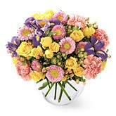 Vibrant Dreams Pastel Flower Bouquet