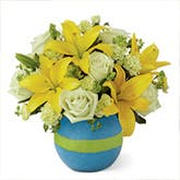 Congratulations New Baby Boy Bouquet