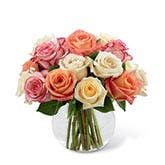 Pleasant Dreams Mixed Rose Bouquet