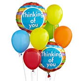 Thinking Of You Balloon Bouquet Same Day Delivery Available