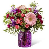 Gerbera Purple Flower Bouquet
