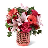 Coral Bliss Mixed Bouquet