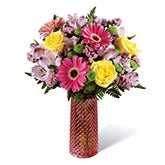 Happy Gerbera Daisy Mixed Bouquet