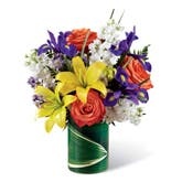 Tropical Yellow Lily Bouquet