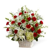 Wonderful Life Sympathy Arrangement
