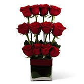 Tower of Love Rose Arrangement