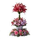 Tower of Beauty Floral Tribute
