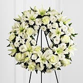 Cherished Tribute Wreath Spray