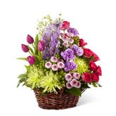 Treasured Mixed Flower Basket