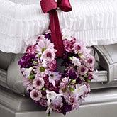 Parting Prayers Wreath Adornment