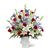 Patriotic Farewell Arrangement