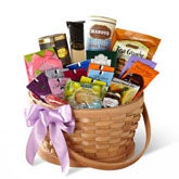 Teas & Gourmet Treats Gift Basket Delivery