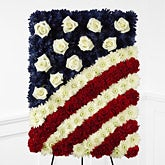 Patriotic Glory Flag Tribute