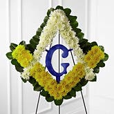 Masonic Funeral Flower Spray