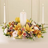 Vibrant Love Unity Candle Arrangement
