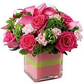 Blushing Brilliance Rose Bouquet