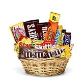 Favorite Treats Candy Basket
