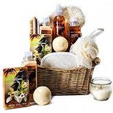 Vanilla Passion Spa Basket