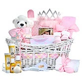 Pretty Princess Baby Gifts Basket