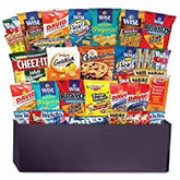 Monster 50 Snacks Gift Basket