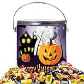 Halloween Candy Bucket Gift Basket