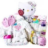 Hello Kitty Baby Basket