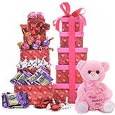 Mother's Day Tower Gifts Baskets
