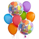 Get Well Balloon Bundle