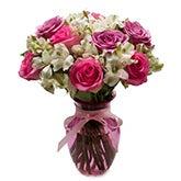 Lavish Pastel Rose Bouquet