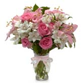 Pink Goddess Rose Bouquet