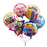 3999 3399 Happy Birthday Mylar Balloon Bouquet