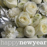New Year Flower Bouquet - Florist Designed