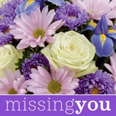 Florist Designed Miss You Bouquet