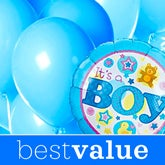 New Baby Boy Florist Designed Balloon Bouquet