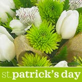 St. Patrick's Day Flower Bouquet - Florist Designed