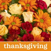 Thanksgiving Flower Bouquet - Florist Designed