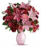 Pearly Pink Lily Bouquet